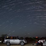 Star trails Bado Jabal Sindh