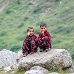 Kids in Naran - Shot with X-T1