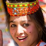 Kalashi girl in Bomborit Kalash