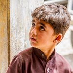 Boy in Lasbela District, Balochistan