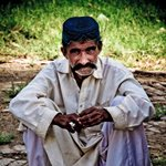 Faces of Pakistan. Manchar Lake