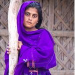 Balochi Girl in Sindh.